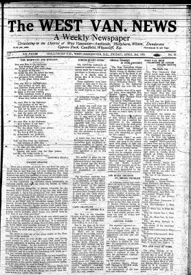 West Van. News (West Vancouver), 2 Apr 1931