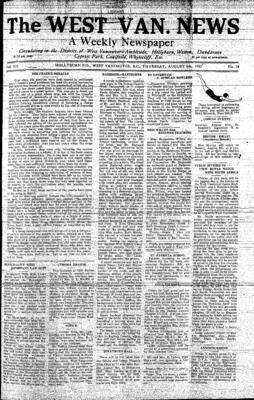 West Van. News (West Vancouver), 5 Aug 1937
