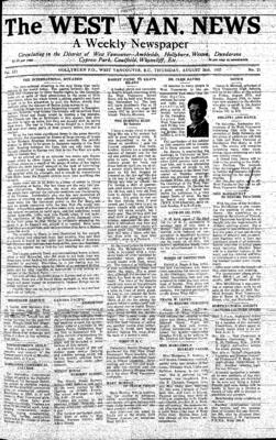 West Van. News (West Vancouver), 26 Aug 1937