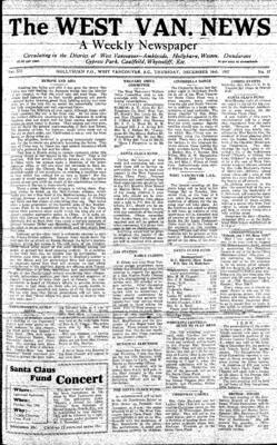 West Van. News (West Vancouver), 16 Dec 1937