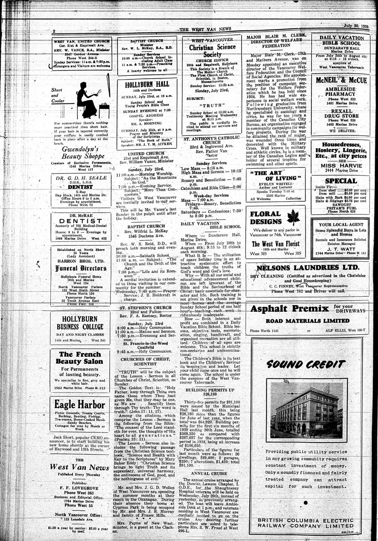 West Van. News (West Vancouver), 20 Jul 1939