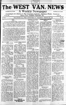 West Van. News (West Vancouver), 14 Mar 1940