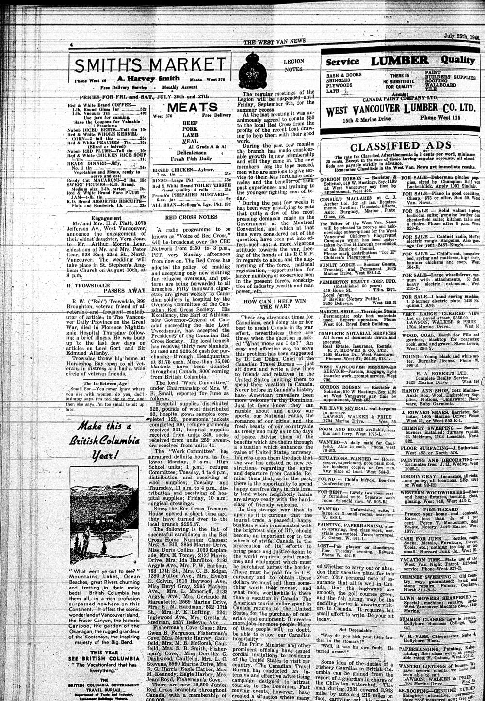 West Van. News (West Vancouver), 25 Jul 1940