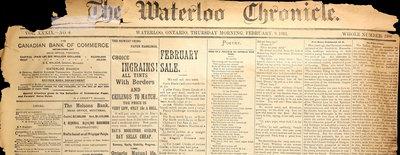 Waterloo Chronicle