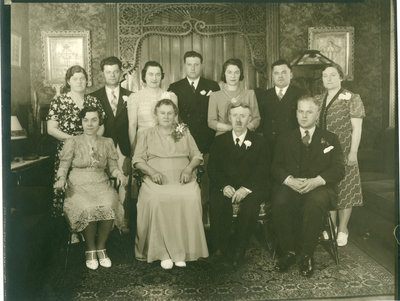 Mayor Louis F. Dietrich and Family