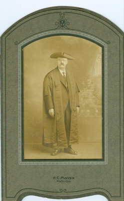 Mayor Louis F. Dietrich, Waterloo, Ontario