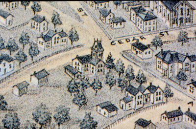 Portions of 1891 Map of Waterloo