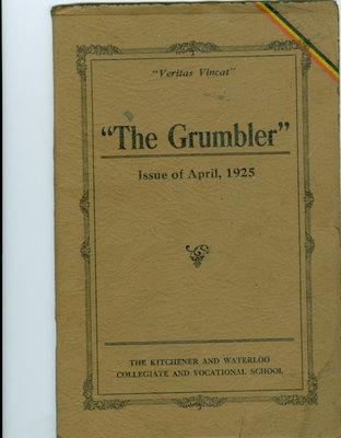 KCI Grumbler Year book, April 1925