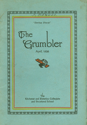 KCI Grumbler Year book, April 1926