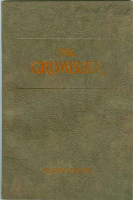 KCI Grumbler Year book, December 1927
