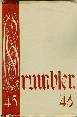 KCI Grumbler Year book, 1945-1946
