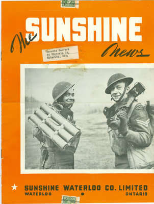 Sunshine Waterloo Company Sunshine News newsletter, January 1943