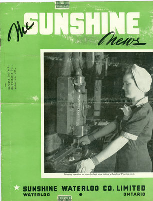 Sunshine Waterloo Company Sunshine News newsletter, February 1943