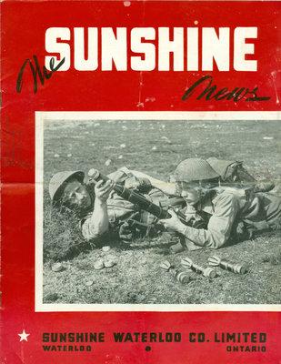 Sunshine Waterloo Company Sunshine News newsletter, March 1943