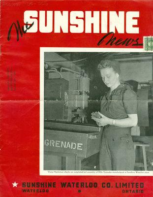 Sunshine Waterloo Company Sunshine News newsletter, May 1943