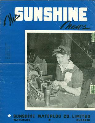 Sunshine Waterloo Company Sunshine News newsletter, October/November 1943