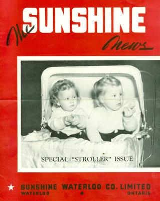 Sunshine Waterloo Company Sunshine News newsletter, December 1943