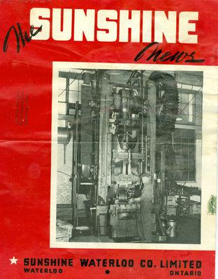 Sunshine Waterloo Company Sunshine News newsletter, May-June 1944