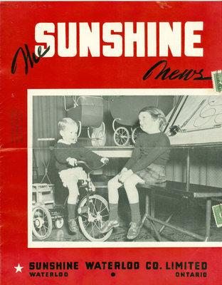Sunshine Waterloo Company Sunshine News newsletter, November December 1944