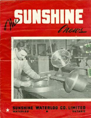 Sunshine Waterloo Company Sunshine News newsletter, 1945