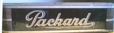 Packard Automobile Sign