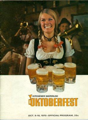 Oktoberfest Official Program, 1970
