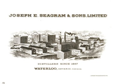Joseph E. Seagram Distillery Illustration