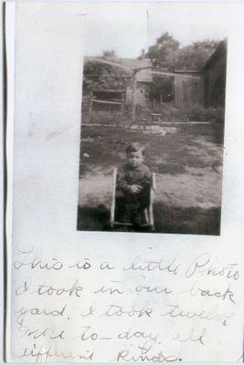 Postcard to Nelda Hillgartner