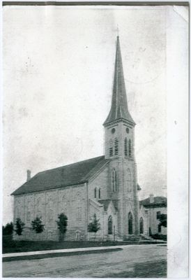 Postcard of St. John's Lutheran Church