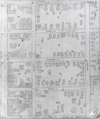 Fire Insurance Map 1942, Map 3