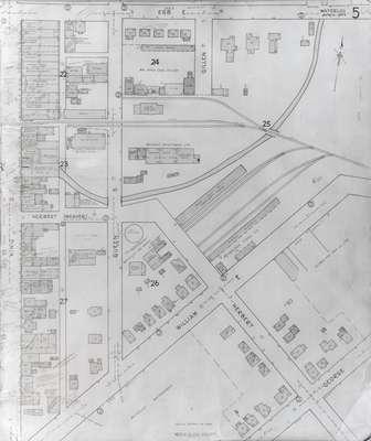 Fire Insurance Map 1942, Map 5