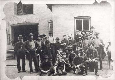 Group of men and boys