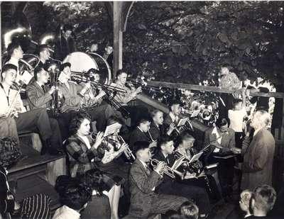 Waterloo Band Performing at Cityhood Celebration Picnic