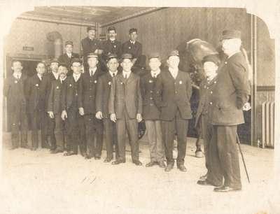 Waterloo Fire Brigade Members