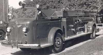 Waterloo Fire Department Truck, 1948