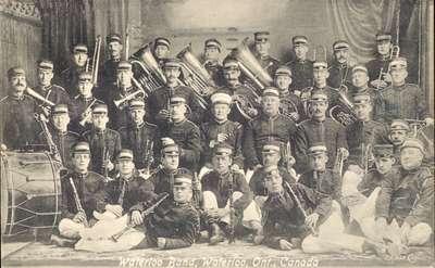 Waterloo Musical Society Band 1933