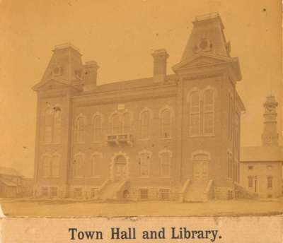 Waterloo Town Hall and Library