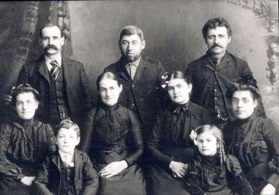 Martin and Brubacher Families, Waterloo, Ontario