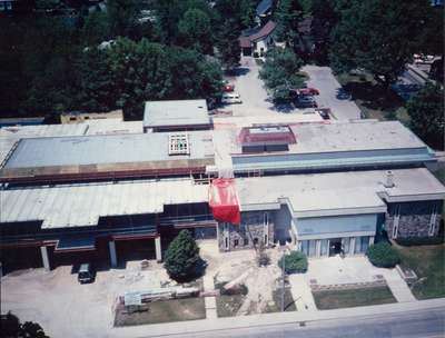 Waterloo Public Library Expansion,1987-1989
