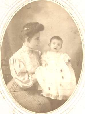 Woman and Baby