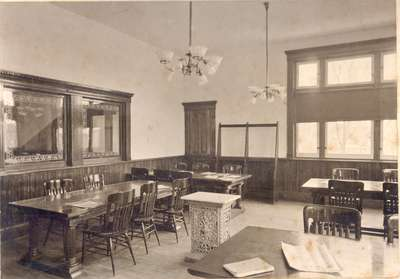 Reading Room of the Carnegie Library