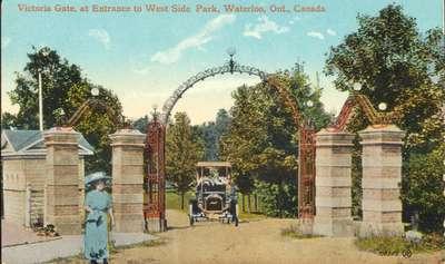 Waterloo Park Victoria Memorial Gateway
