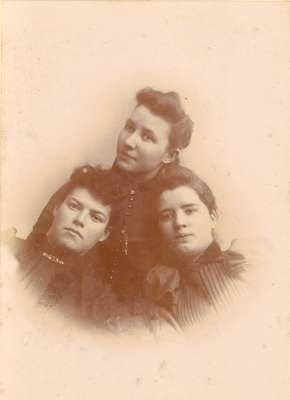 Adeline Fry, Anna Bean Groff and Blanche Bean