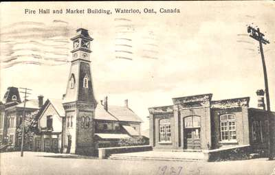 Waterloo Fire Hall and Market Building