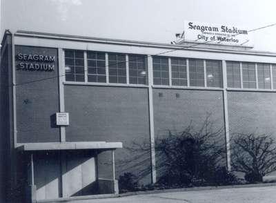 Seagram Stadium Building, Waterloo, Ontario