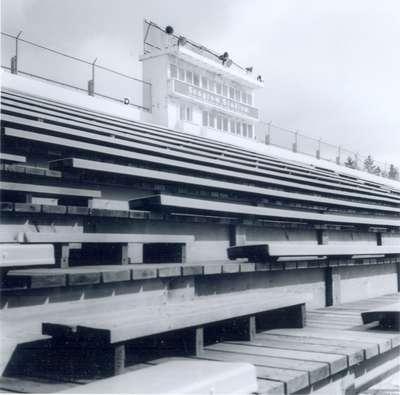 Seagram Stadium Bleachers, Waterloo, Ontario