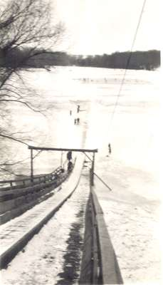 Waterloo Park Toboggan Slide