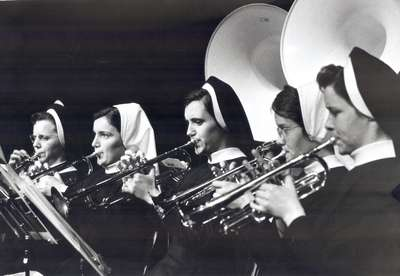 Nuns Playing Trumpets