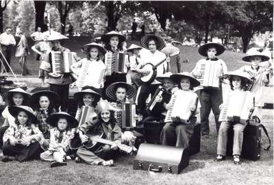 Accordion Band, Waterloo Band Festival