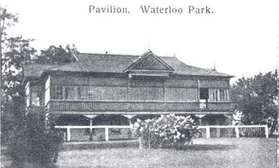 Waterloo Park Pavilion